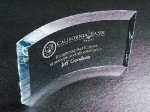 Curved Beveled Sales Awards